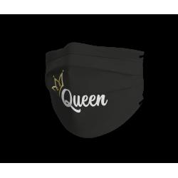 Queen zwart trendy...
