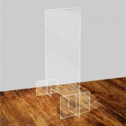 Cloison en plexiglass -...