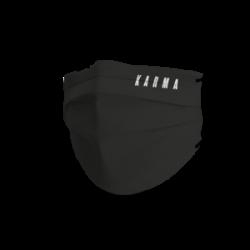 Trendy mondmasker karma zwart