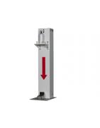 Desinfectie dispensers - bescherming corona